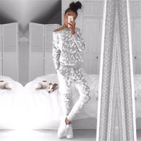 2016 Autumn Winter Women Set Clothing Casual Women Sweatshirt Pants 2 Pieces Set Sports Tracksuit Hoodie