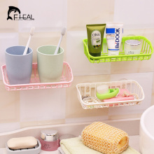 FHEAL Multi Double Suction Sink Shelf Soap Sponge Tableware Jewelry Cosmetics Drain Rack Kitchen Bathroom Sucker Storage Tool