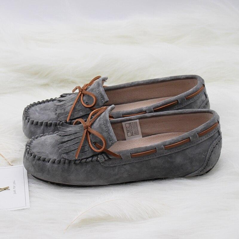 675ae71b89efa 100% Genuine leather Women flats Handmade Women Casual leather shoes  Leather Moccasin Fashion Women Driving Shoes. MIYAGINA ...
