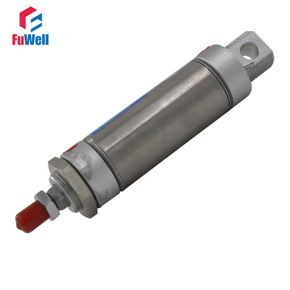 MA Pneumatic Cylinder Single Rod Double Acting 40mm Bore 25/50/100/125/150/175/200/250/300/350mm Stroke Pneumatic Air Cylinder high quality double acting pneumatic gripper mhy2 25d smc type 180 degree angular style air cylinder aluminium clamps