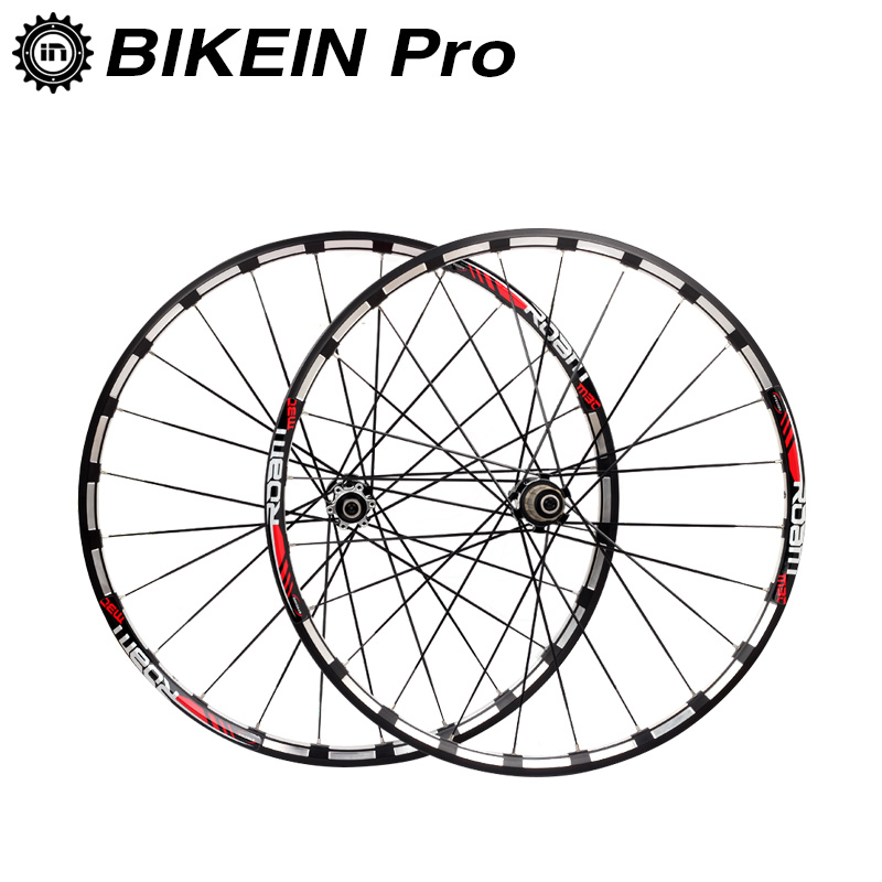 BIKEIN Mountain Bike 120 Sound 2/5 Bearings Japan Carbon Hub Wheels Cycling MTB 26/27.5 Disc Brake Rim Wheelset Bicycle Parts free shipping lutu xt wheelset mtb mountain bike 26 27 5 29er 32h disc brake 11 speed no carbon bicycle wheels super good
