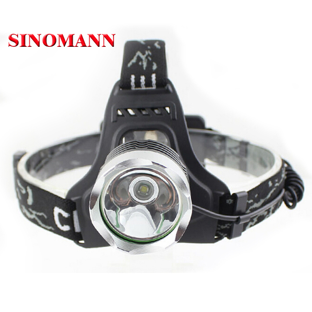 CREE XML T6 Cree Headlamp LED Headlight T6 LED Head lamp 2000lm Flashlight Head Torch 3 mode