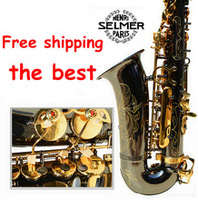2015 New High Quality Saxophone Alto R 54 Musical Instruments Professional E Flat Sax Alto Black