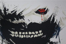 Tokyo Ghoul Graphic T-Shirts Tees Short Sleeves Summer Ken Kaneki Cotton