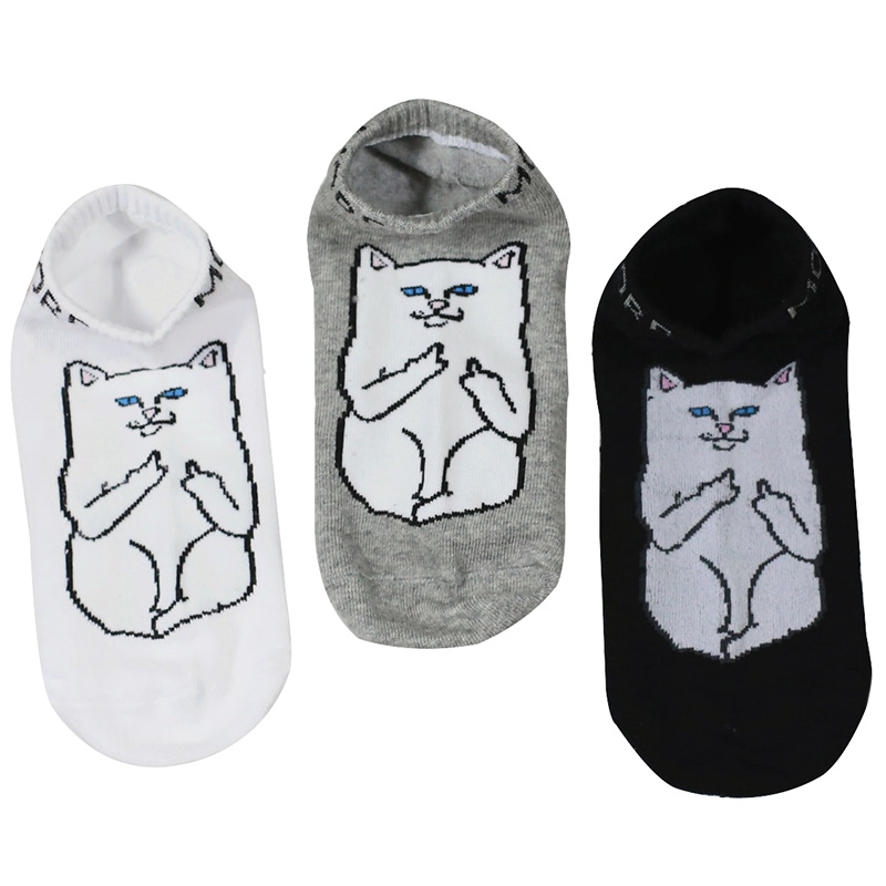 5pairs 3 Color New Arrival Sock Japanese Casual Fashion Harajuku Style Creative Funny Cat Socks Women Men Cotton Socks Meias Sox