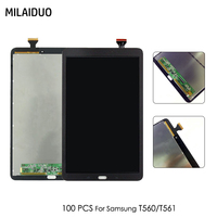 100 PCS Original LCD Display For Samsung Galaxy Tab E T560 T561 SM T560 SM T561 9.6 Tablet Touch Screen Digitizer Assembly