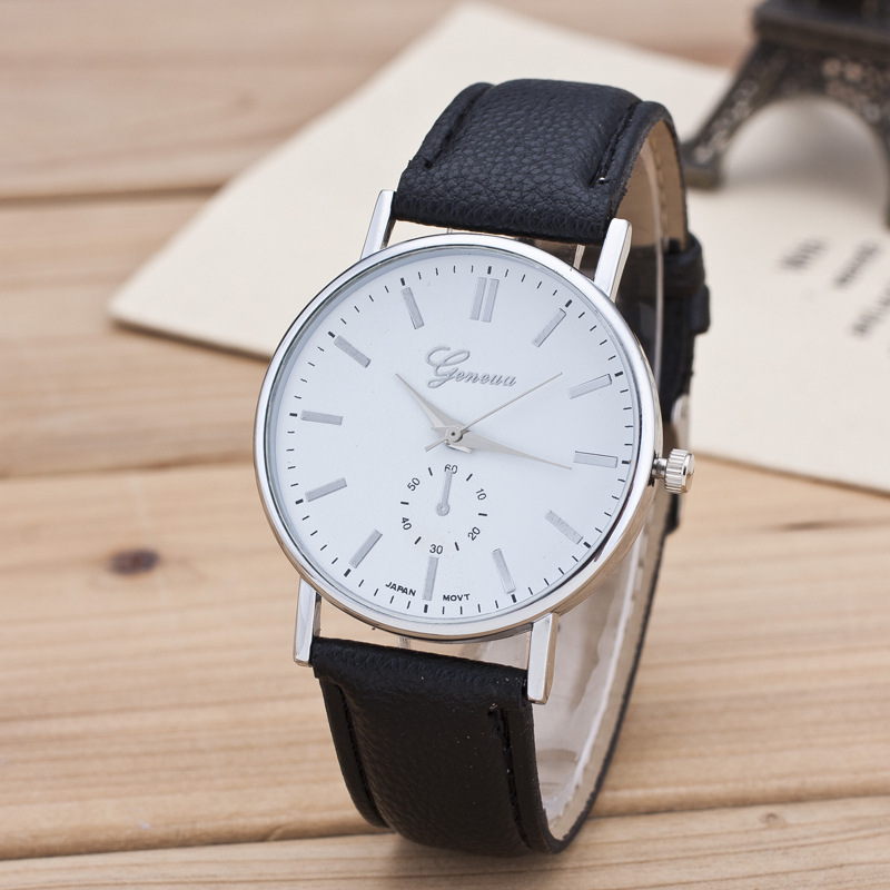 Dress watch black or white face