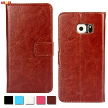 LELOZI For Samsung Galaxy S3 S4 S5 S6 S7 edge Classic Luxury Vintage Flip Leather Mobile Phone Case Wallet Cover Cases(China)