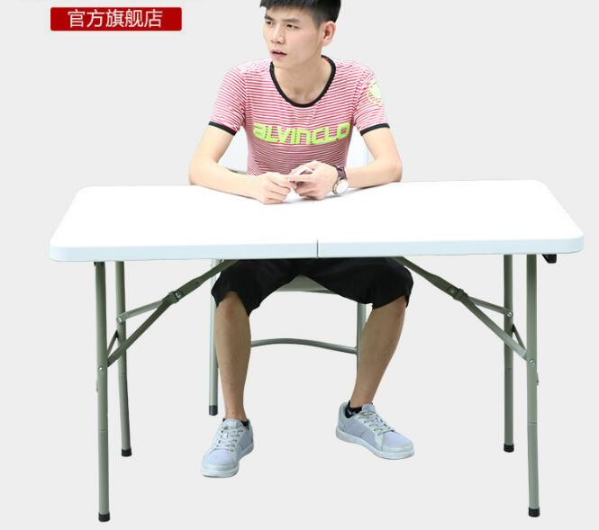 122*61*74cm Portable Folding Long Conference Tables  Outdoor Picnic Table