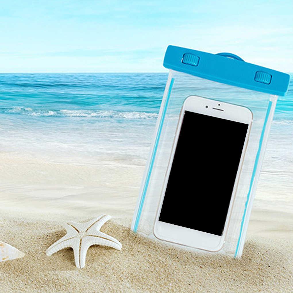 BƠI Túi Túi Chống Nước có Dạ Quang Dưới Nước Túi Ốp Lưng Điện thoại Iphone 6 6s 7 đa năng tất cả các mô hình 4 inch-5.5 inch