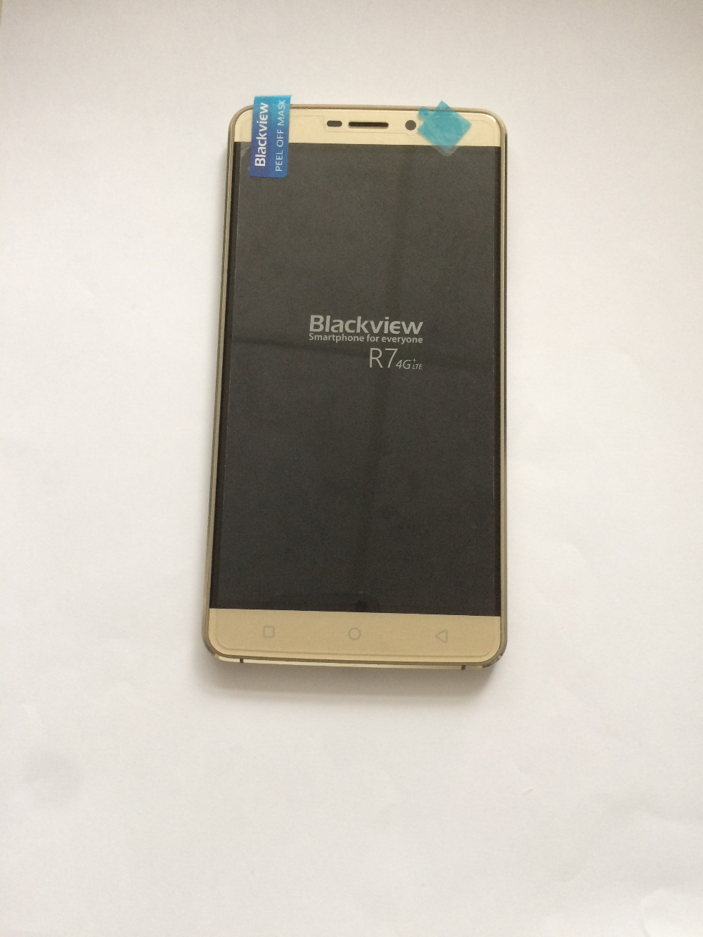 Original Used LCD Display Screen Touch Screen Frame For Blackview R7 MTK6755 Octa Core 5 5