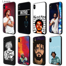 Lavaza J COLE Hip hop Soft Silicone Case Cover for Apple iPhone 6 6S 7 8 Plus 5 5S SE X XS MAX XR TPU Cases