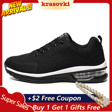 Krasovki Women Men Sneakers Air Mesh Breathable Shoes Summer Comfortable for Walking Spring Autumn Winter Casual