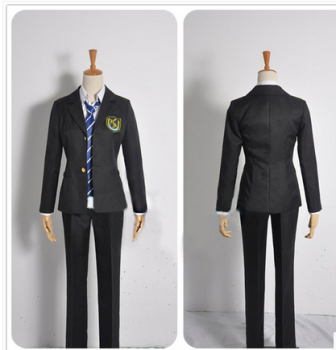 Fashion Anime White Album 2 Haruki Kitahara Cloth Uniform Cosplay Costume,Any Size image