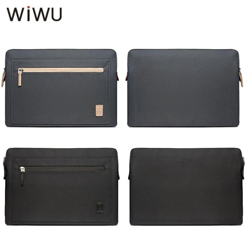 WIWU Laptop Bag Case for Macbook Pro 13 Waterproof Nylon Not