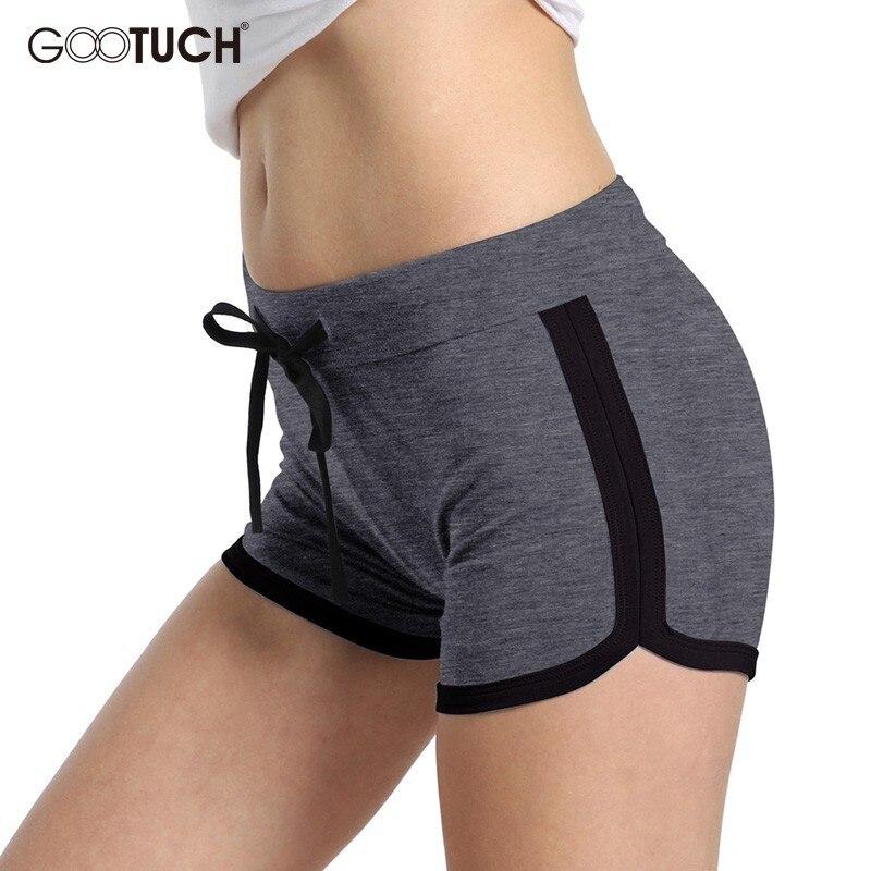 Summer Womens Cotton Sleep Bottoms Plus Size Pajama Shorts Boxer Elastic Waist Ladies Lounge Shorts Casual Homewear Short 8858A