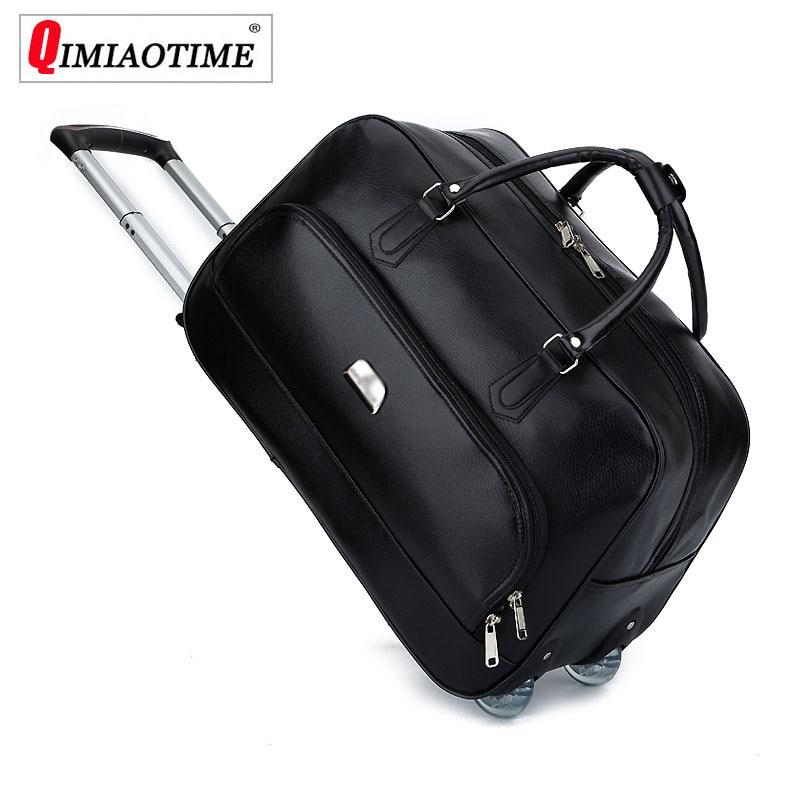 2018 nouveau sac De voyage Trolley De grande capacité De luxe avec roues valises De voyage et ensemble De bagages Maletas Y Bolsas De Viaje