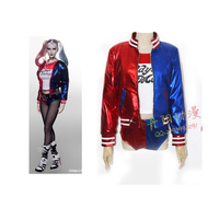 2016 Movie Suicide Squad Harley Quinn Costume Batman Joker Cosplay Party Halloween Costumes