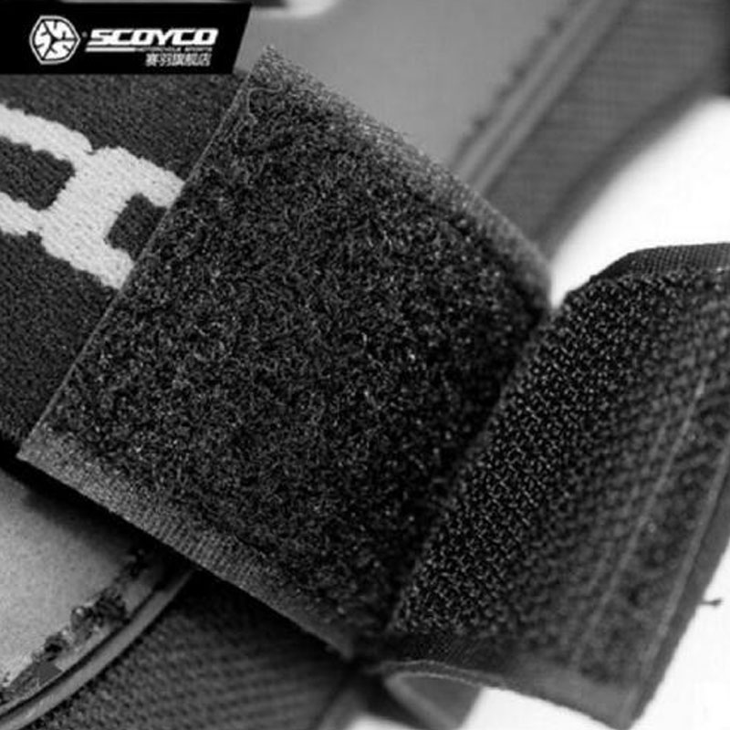 2018 SCOYCO Motorcycle Kneepad Motocross moto knight Anti fall riding protection equipment Knee pads of PE Shell protection