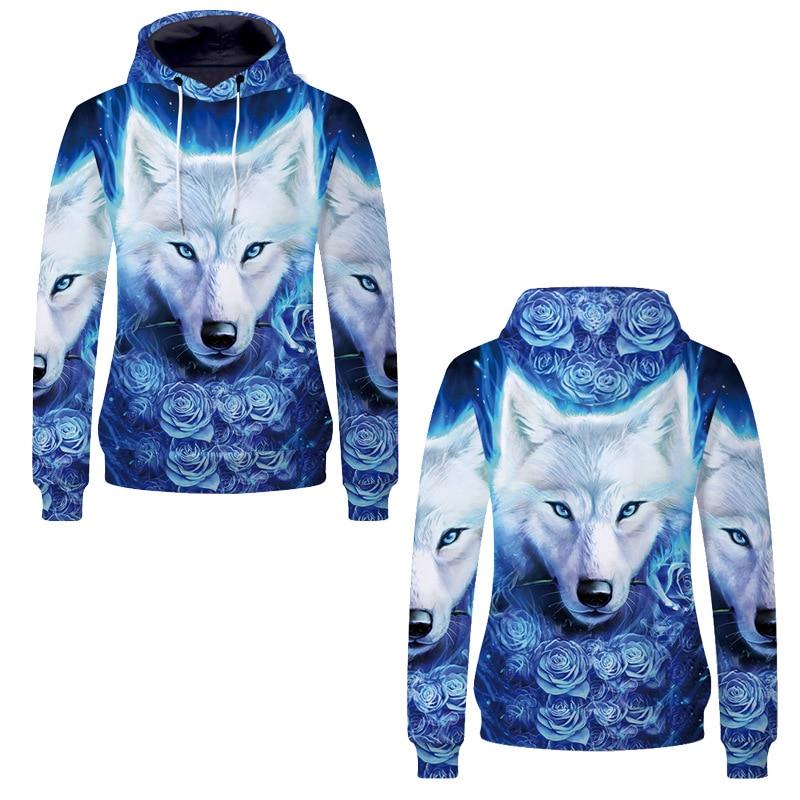 2019 3D Wolf Hoodies Animal Sweatshirt Cute MovieThe Avengers 4 Hoodie Heroes Printed for Kids Boys Fans