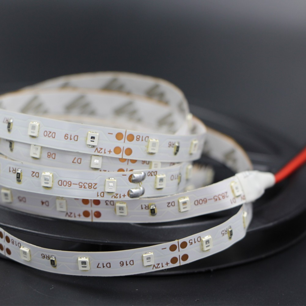 RGB 300 LED strip light 5m 60LEDs/m SMD 2835 White Warm White Red Green Blue LED strip 12V Waterproof flexible Tape rope stripe smd 12 led extendable light strip 30cm green 12v