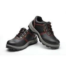 Купить с кэшбэком AC13017 Work Safety Shoes Men Sneakers  Breathable Steel Toe Slip On Casual Shoe Safety Shoes Women Steel Toe Security Shoes Men