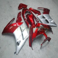 Custom motorcycle fairing for FJR1300 2002 2003 2004 2005 2006 FJR 1300 Body Kit motorcycle panels Screws red silver