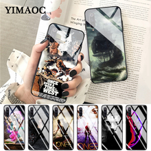 YIMAOC Once Upon A Time Luxury Protector Glass Case for Xiaomi Redmi 4X 6A note 5 6 7 Pro Mi 8 9 Lite A1 A2 F1