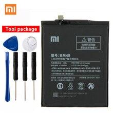 Оригинал Сяо mi BM49 высокое ёмкость телефон батарея для Xiaomi mi Max BM49 4760 мАч