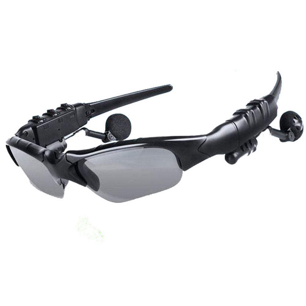 Fashion Smart V4.1 Bluetooth Glasses Stereo Music Calls Handsfree Intelligent Control Phone Camera Take Photo Video For Selfie.