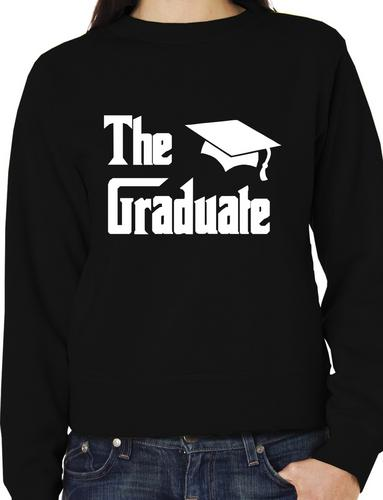 The Graduate Graduation Day Gift Present Adult Sweatshirt Gift More Size And Colors E151 in Hoodies amp Sweatshirts from Women 39 s Clothing