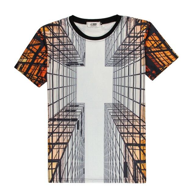Специальный Креативный Дизайн 3D Печати Мужчины Майка Лето Новинка Топы закаленное Стекло 3d Забавный Tee Короткие Мужчины Harajuku Geek мужские Рубашки