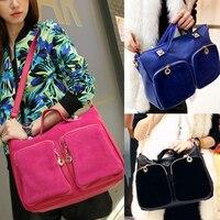 Fashion Women's Handbag Messenger Single Shoulder Bag Double Pocket Style Bag 3 Colors 88 BS88