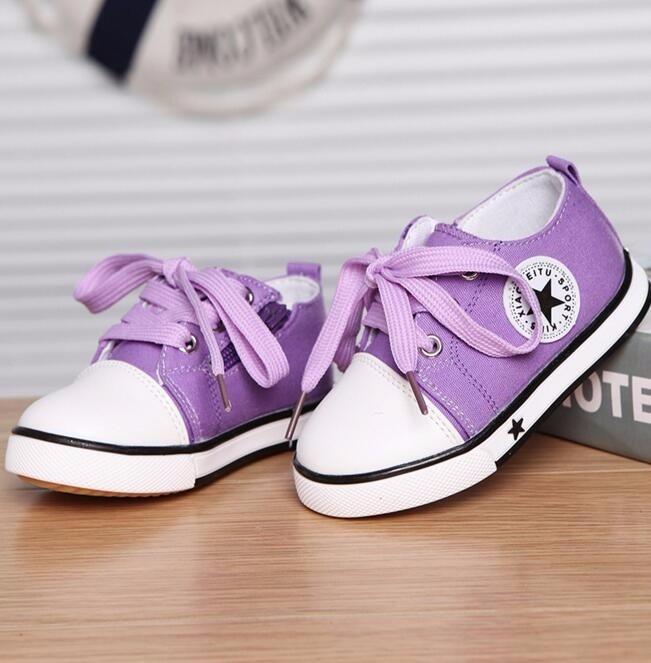 2017 Nem Summer Spring Canvas obuwie dziecięce Star Fashion Sneakers - Obuwie dziecięce - Zdjęcie 4