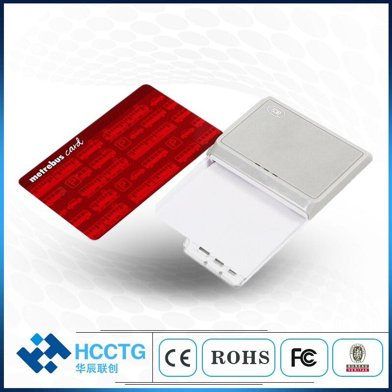 Lecteur de carte à puce micro USB et Bluetooth ISO 7816 avec batterie rechargeable ACR3901