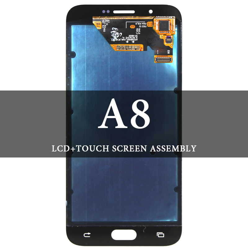 Screen AMOLED 5.7 Inch For Samsung A8 2015 A800 LCD NO Dead Pixel Touch Screen Assembly For Samsung A8 2015 A800 Display