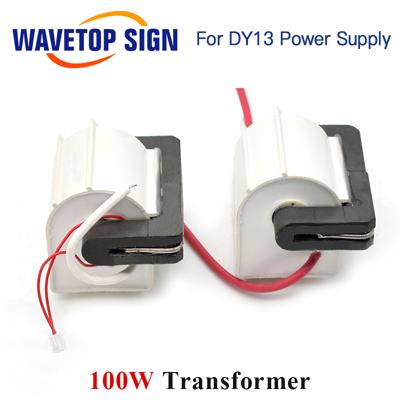 WaveTopSign High Voltage Flyback Transformer HY-80TC-3T*2 100W use for RECI  Laser Power Supply DY13 100W 2PCS/Lots
