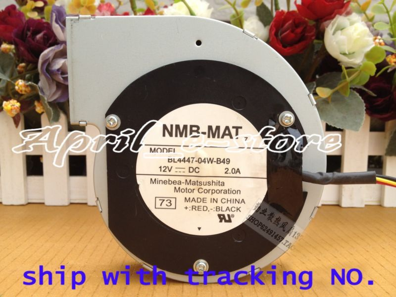 original for NMB BL4447-04W-B49 Server - Blower Cooling Fan ,Free shipping ! ! white sexy lace details no falsies bodycon bralet