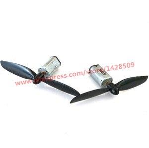2 комплекта высокое качество N30 Металл микро 3,7 В DC-мотор с черный Пропеллер для модели двигателя самолета