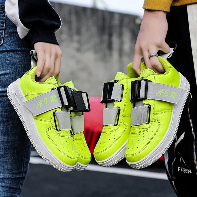 2019 New men skateboarding shoe Breathable air sneaker boys children shoes  zapatos de hombre sport trainers shoes