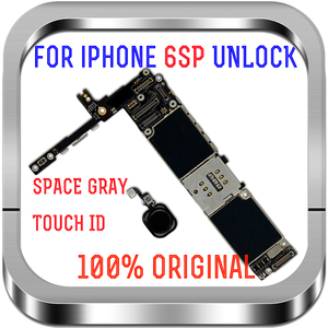 Image 5 - 16gb / 64gb / 128gb  unlocked for iPhone 6S Plus Motherboard with / without Touch ID Logic board for iphone 6s 5.5inch