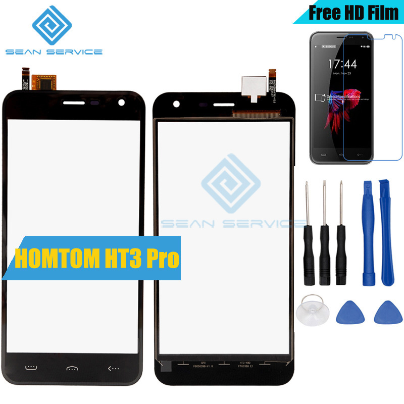 For HOMTOM HT3 Pro TP Touch Screen Panel Perfect Repair Parts +Tools 5.0