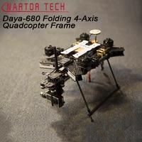 680 Daya 680 Daya 680 Folding 4 Axis UAV H4 Quadcopter Frame w/Landing Gear for FPV