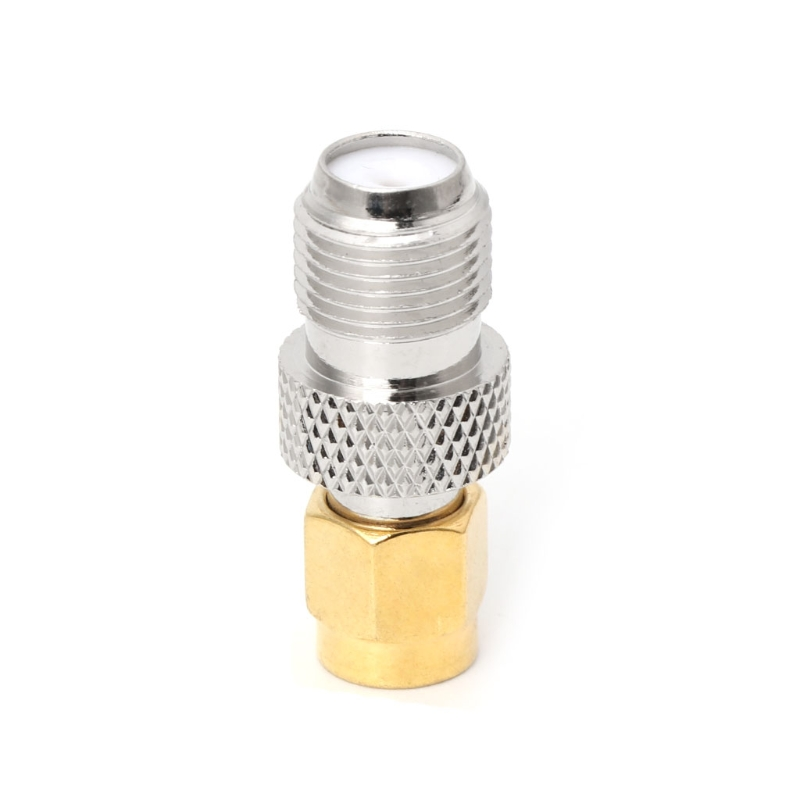 F Type Female Jack to SMA Female Socket Straight RF Coax Adapter F to SMA Plug in Connectors from Lights Lighting