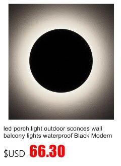 Luminárias de parede externas