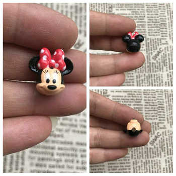 60piece 2cm the minnie mouse head very small figure toys minnie mouse collection figure toys - DISCOUNT ITEM  17% OFF All Category