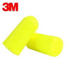 10pairs Authentic 3M312 1250 Noise Reduction Norope Earplugs Foam Soft corded Ear Plug Travel Swimming Protective earmuffs