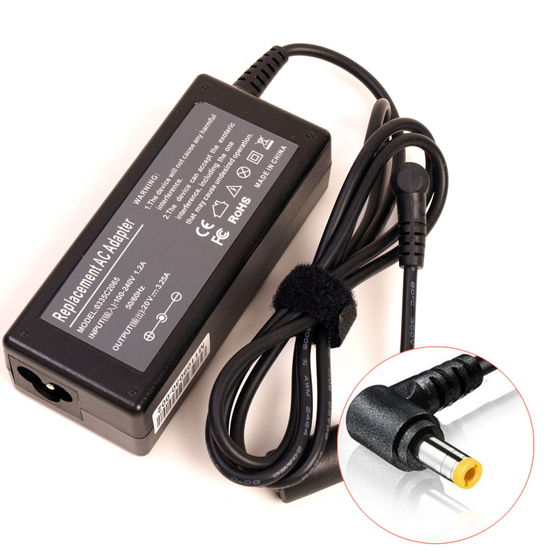 20V 3.25A 65W Laptop Ac Adapter Charger for <font><b>Lenovo</b></font> IdeaPad charger <font><b>G570</b></font> G550 G430 G450 G455 G460 G460A G475 G555 G560 Notebook image