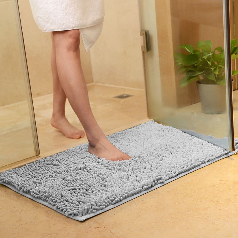 Non Slip Bath Mat Bathroom Carpet Tapis Salle de Bain Mat in the Bathroom Comfortable Bath