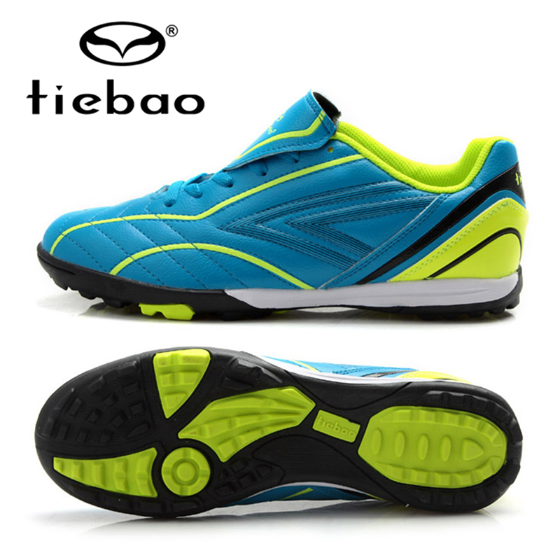 TIEBAO Brand New Professional Children Kids Football Shoes Trainer Shoes Sneakers Outdoor Sport Boys Girls Soccer